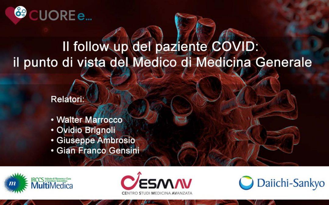 Il follow-up del paziente COVID: il punto di vista del Medico di Medicina Generale